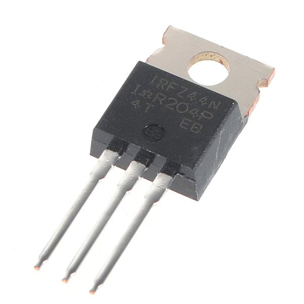 5pcs irfz44n transistor n-channel international rectifi