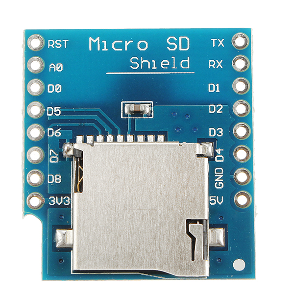 3pcs wemos micro sd card shield for wemos d1 mini
