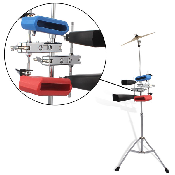 New Multifunctional Drum Stand Clip Silver For Wind Chimes