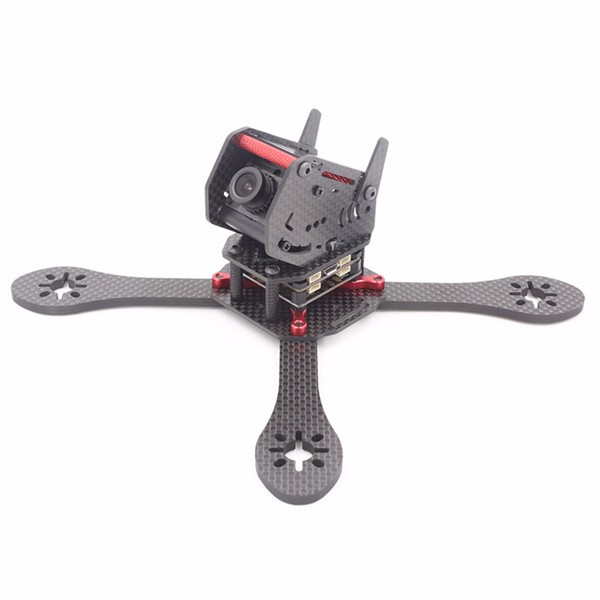 GEPRC GEP-ZX5 190mm 3K Carbon Fiber Frame Kit with 12V 5V PDB Board