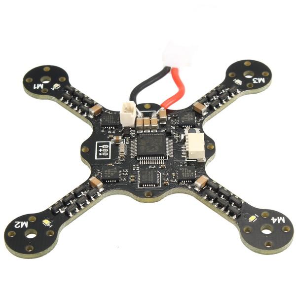 X73S Spare Part Body Frame Kit w/ Naze32 6DOF Cleanflight Flight Control 4*3.5A ESC