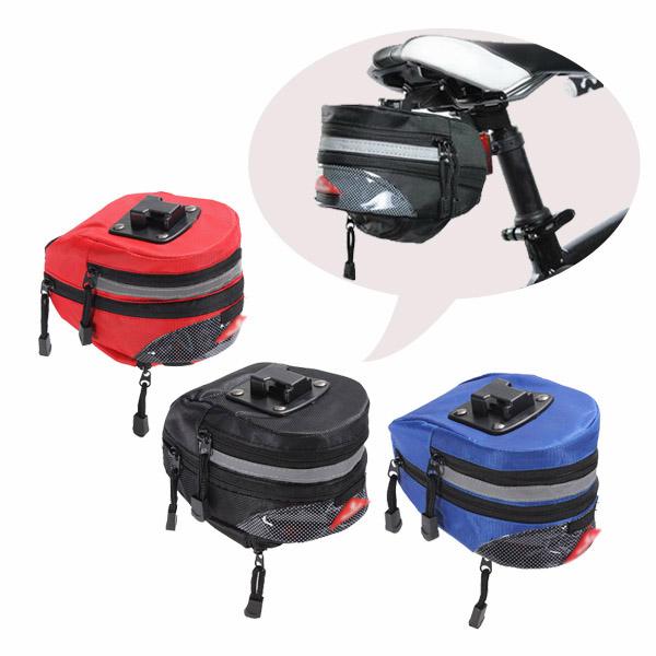 Bike Cycling Tail Seat Bag Bicycle Saddle Rear Bag Supplies