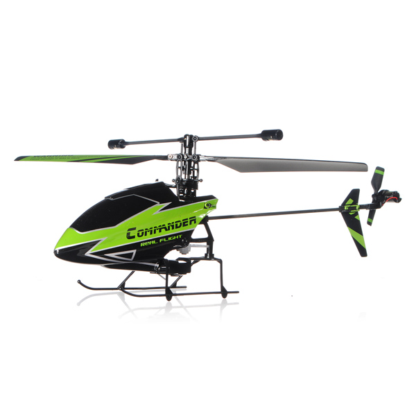 WLtoys V911-1 2.4G 4CH RC Helicopter New Plug Green BNF