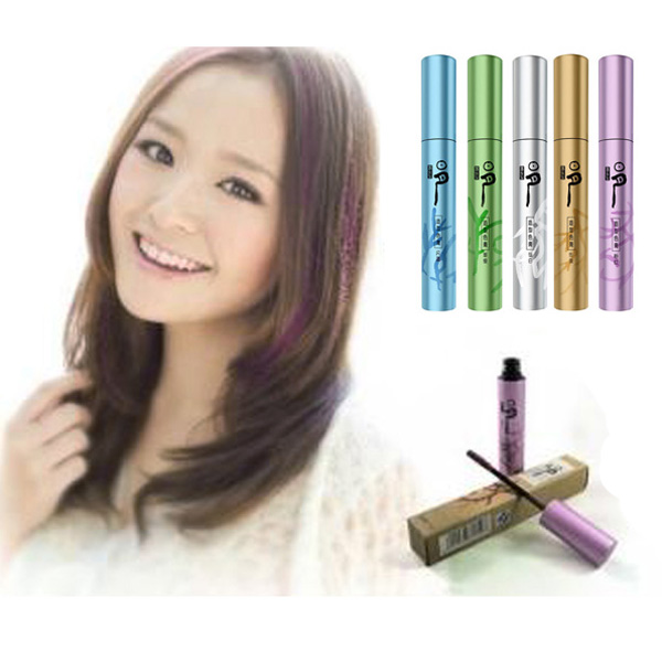 Portable Disposable Hair Coloring Lipstick Crayon