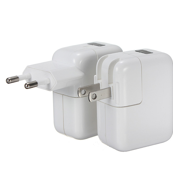 Universal Dual USB Wall AC Adapter EU US Plug For iPhone 5 iPad