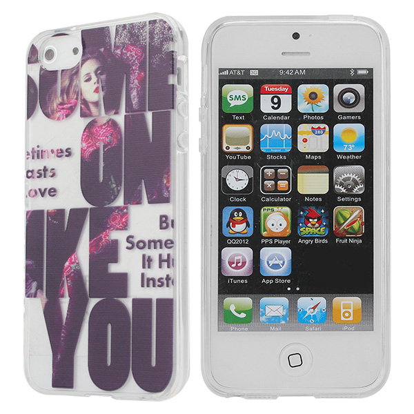 Fashion Famous Singer Adele Design Case For iPhone 5 5S 5G