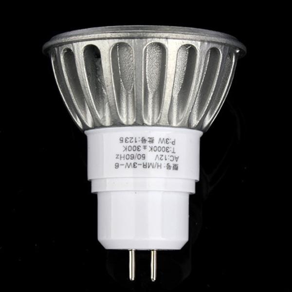 MR16 COB 3W 12V Led Home Office Spotlight Lamp Bulb Light Warm White