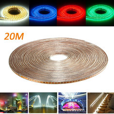20M SMD3014 Waterproof LED Rope Lamp