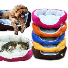 Large Size Fleece Soft Warm Dog Mats Bed Pad