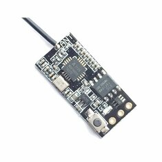 2.4G 6CH Micro Compatible Receiver With PPM Output Binding Button For Flysky Transmitter