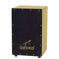 Gecko Percussion CL019 Blackwood Cajon Drum with Bag