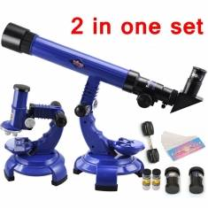 Telescope Microscope Set Science Nature Educational Astronomy Learning Kids Toy