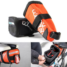 ROSWHEEL Bike Bicycle Saddle Bag Back Seat Tail Pouch EVA Cycling Bag Seatpost