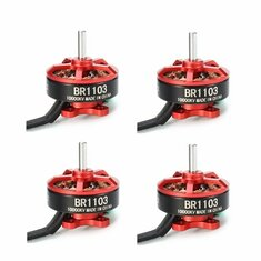 4X Racerstar Racing Edition 1103 BR1103 10000KV 1-2S Brushless Motor For 100 120 150 RC Multirotor
