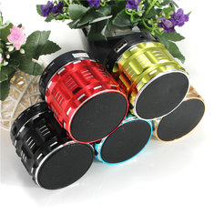 S28 Metal Mini Portable Wireless Bluetooth Stereo Bass Speaker