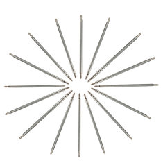 30pc 8-22mm Mixed Stainless Steel Watch Band Spring Bar Strap Link Pins
