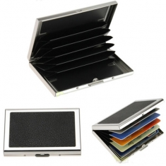Waterproof Aluminum Business ID Credit Card Case Pocket