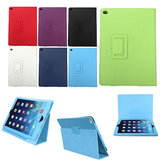 Litchi Grain PU Leather Flip Stand Smart Case For iPad Air 2