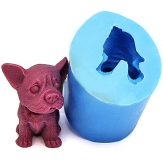 3D Cute Puppy Silicone Baking Mold Fondant Cake Chocolate Mould
