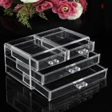 Acrylic Clear Container Makeup Case Cosmetic Storage Holder Organizer