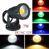 7W IP65 LED Flood Light With Base For Outdoor Landscape Garden Path DC/AC 12V