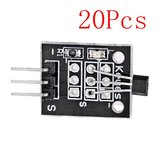 20Pcs DC 5V KY-003 Hall Magnetic Sensor Module For Arduino