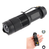 China Wholesale Ultrafire CREE XPE Q5 7w 3 Modes Zoomable LED Flashlight