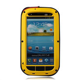 Silicone Metal Dust Proof/Water Proof Case For Samsung Galaxy S3 i9300