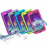 Waterproof Case Cover with buttons For Samsung Galaxy Note 4 N9100