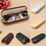 Maze Embossed Sunglasses Box Compression Resistance Plastic Travel Carry Case Bag