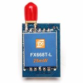 FX FX668-L 5.8G 25mW 40CH Audio Video AV Transmitter With Antenna