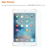 Hat Prince 0.33mm 2.5D Premium Tempered Arc Edge Tempered Glass Screen protector For iPad Mini 3/2/1
