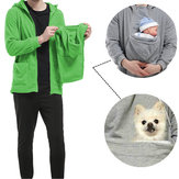 Pets Care Baby Care Brood Pouch Multifunctional Hooded Warm Fleece Autumn Winter Coat Sweater