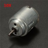 10pcs 21mm Miniature Small Electric Motor 1.5-4.5V DC Brushed Motor for Models Crafts Robots