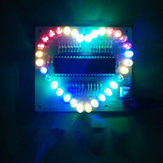 DIY SCM Colorful Glare Heart-shaped Light Kit Electronic Teaching Training Kit