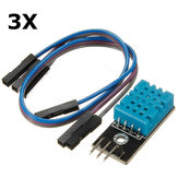 3Pcs KY-015 DHT11 Temperature Humidity Sensor Module For Arduino