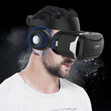 VR Shinecon 4th Gen Virtual Reality 3D Glasses With Headset For 3.5-5.5 Inches Smartphones
