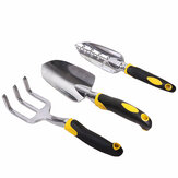 Honana HG-GT6 Gardening Three Piece Garden tools Set Aluminum Alloy Tools Two color Handle