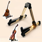 Aroma AUS-08 Foldable Metal Stand with Silicon Soft Pad For Ukulele Violin