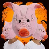 Animal Halloween Pig mask Headgear Mask Funny Costume Comedy Theater