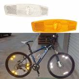 Bike Bicycle Reflector Wheel Spoke Reflecting Warning Devicce For Safety Cycling Protection