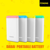 Foneng 10000mAh Ultrathin DC5V 2.1A Power Bank for Mobile Phone