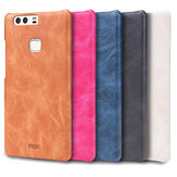 MOFI PU Leather Hard Back Protective Cover Case For Huawei P9