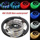 4M DC12V 19.2W 240 SMD 3528 Non-waterproof Red/Blue/Green/White/Warm White/RGB Flexible LED Strip