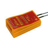 Cooltech RSF06B 6CH 2.4Ghz S-FHSS Compatible Receiver for Futaba 10J 8J 6J 4GRS 4PX
