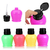 200ml Nail Polish Liquid Press Empty Pump Remover Dispenser Bottle