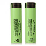 China Wholesale 2PCS NCR 18650B 3400mAH 18650 3.7 V Lithium Rechargeable Battery