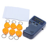 China Wholesale RFID 125KHz EM4100 ID Card Copier with 6 Writable Tags and 6 Cards