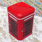 Small Square Jewelry Toothpick Receive Case Tin Gift Boxes