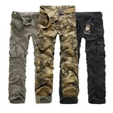 China Wholesale Multi Pockets Mens Pants Casual Camouflage Cargo Pants